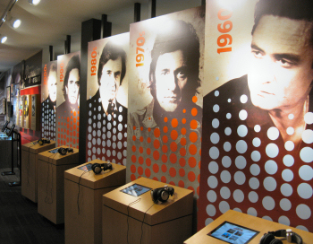 The Inside of the Johnny Cash Museum