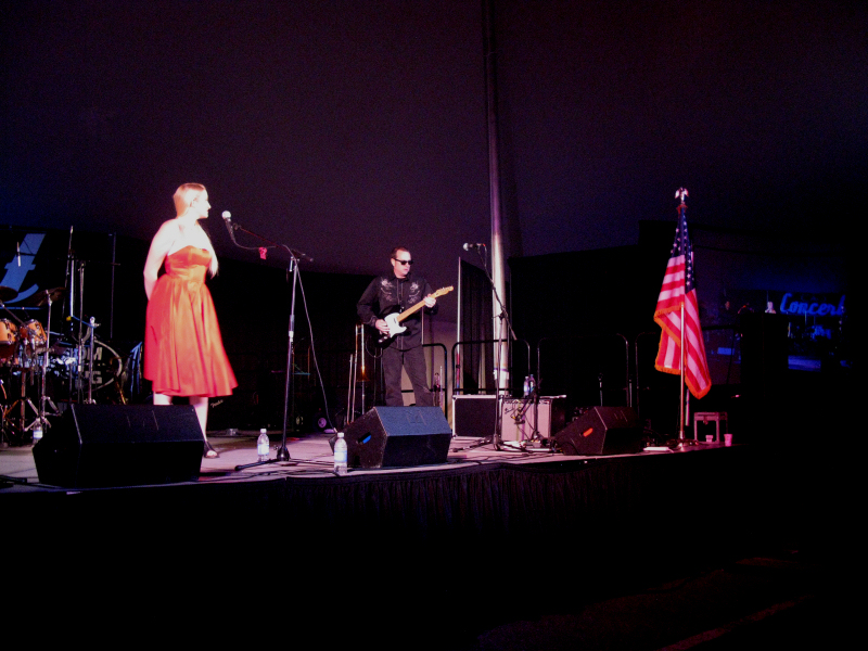 Brookley Performing at CigarFest