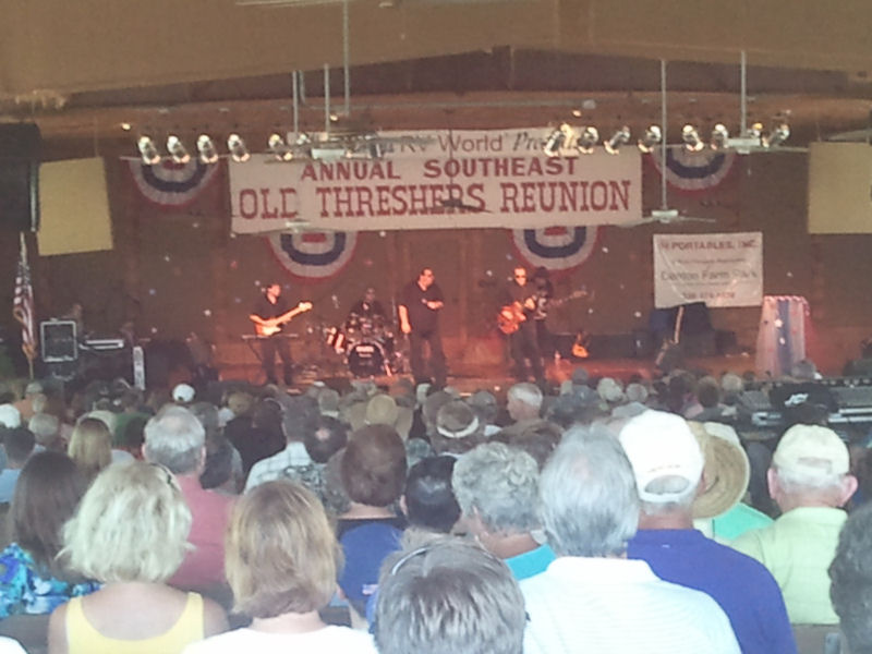 At the Old Threshers Reunion