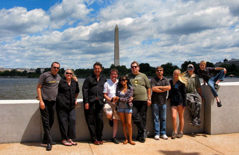 The Band and Family at DC