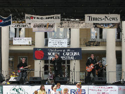 The Folsom Prison Gang at The North Carolina Apple Festival